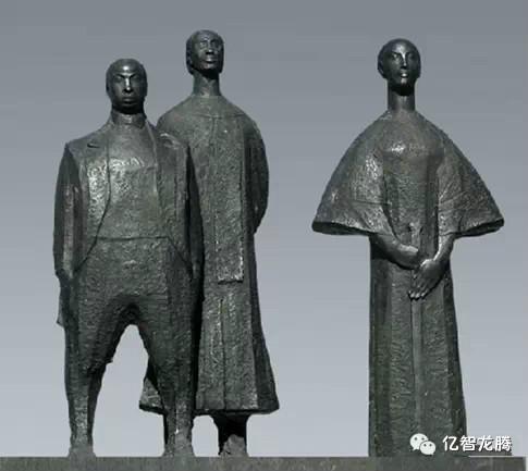 清华大学美术学院---曾成钢雕塑作品